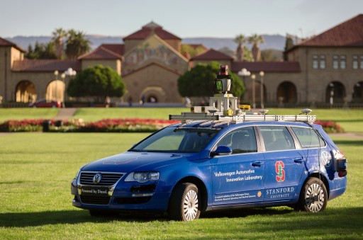 Junior, our autonomous vehicle